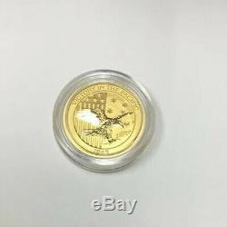 1/10 oz Gold Eagle Coin-Australia Victory In The Pacific. 9999 fine Capsule