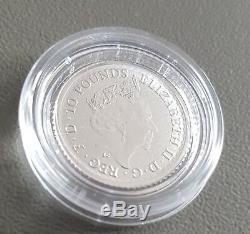1/10oz ounce BRITANNIA 9995 2018 FINE PLATINUM BULLION COIN IN CAPSULE NOT GOLD