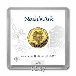 1 Gram 999.9 Fine Gold Bullion Armenia NOAH'S ARK Coin w COA 2021