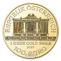 1 oz Austria Philharmonic Gold Random Year 1 oz. 9999 fine Gold Coin