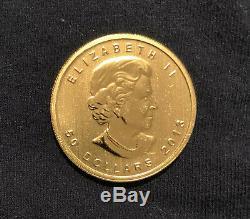 1 oz. Gold 2013 Canada RCM 99.999 fine gold bullion $50.00. Beautiful
