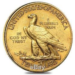 $10 Gold Eagle Indian Head Extra Fine XF (Random Year)