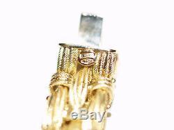 18-k (750) Roberto Coin Woven Mesh Bracelet