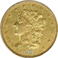 1834 PCGS $5 Gold Classic Head Half Eagle Plain 4 XF40 Extra Fine Pre-33 US Coin