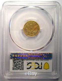 1846-C Liberty Gold Quarter Eagle $2.50 PCGS Fine Details Charlotte Coin