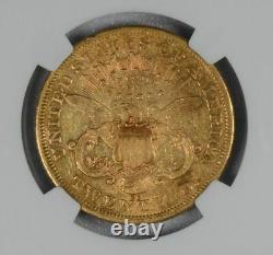1876 CC Carson City Gold Ngc Extra Fine Xf45 $20 Liberty Head Double Eagle Coin