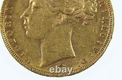 1882 Melbourne Mint Gold Full Sovereign in Very Fine Condition