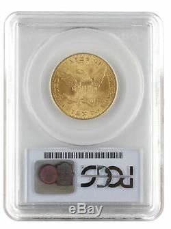 1899 $10 Gold Liberty Head Eagle PCGS MS63 Blue. 900 fine gold
