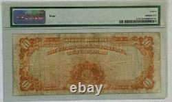 1922 $10 United States Certificate in Gold Coin Note FR-1173 PMG Fine 12 Net