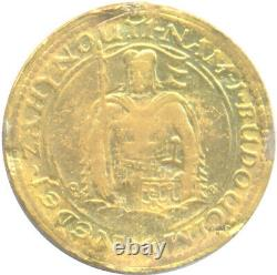 1936 Czechoslovakia Dukat Gold Coin KM# 8 Ch. Extra Fine Low Mintage Rare Date