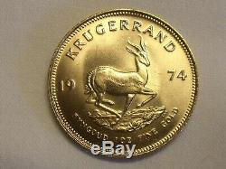 1974 1oz FINE GOLD KRUGERRAND
