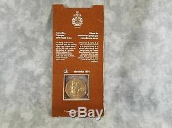 1976 Canadian Montreal Olympics $100 Gold Coin (1/4 oz net fine gold)