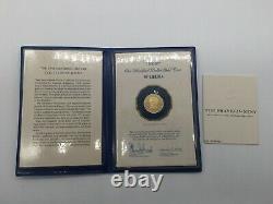 1977 Liberia $100 GOLD Proof Coin 10.93 grams 900/1000 FINE GOLD