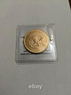 1977 South Africa 1 Oz. Fine Gold Krugerrand Coin