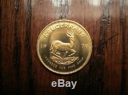 1978 South African KRUGERRAND 1oz. 999 Fine Gold Coin Bullion