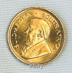 1982 Krugerrand South African 1/4 Oz Fine Gold Coin