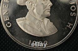1982 Panama 500 Balboas Gold Coin General Omar Torrijos. 50 Fine