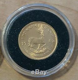 1982 South Africa Krugerrand 1/10 Oz. Fine Gold Bullion Coin