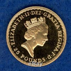 1987 1/4 oz Gold Britannia (. 9167 Fine Gold)