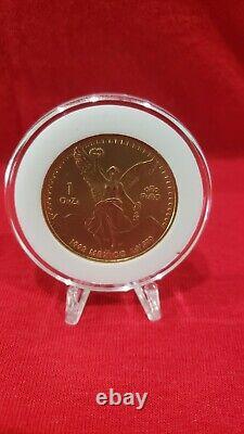 1992 BU Libertad 1oz Gold Onza Mexican Libertad. 999 fine Gold