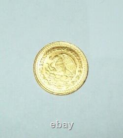 1992 Mexico Libertad 1/20th Oz. 999 Fine Gold Coin UNC