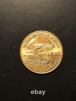 1999 1/4 oz /$10 Dollar Fine Gold American Eagle MINT CONDITION FREE SHIPPING