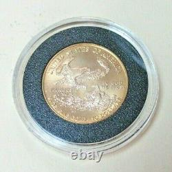 1999 $10 American Gold Eagle 1/4 oz. 999 Fine Gold Coin Uncirculated