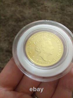 1oz Fine Gold 999.9 2021 Robin Hood Royal Mint Coin