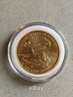 2003 1 oz Fine Gold American Eagle $50 Coin BU