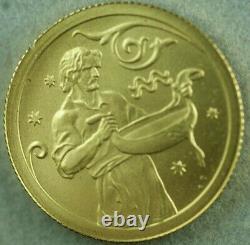 2005 Russian 1/10th Oz Gold Coin. 999 Fine