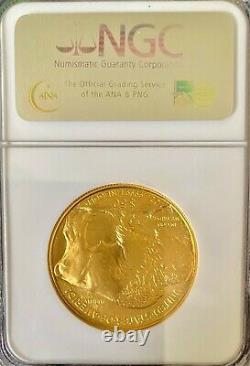 2006 $50 American Gold Buffalo 1oz. 9999 Fine Gold NGC MS69 First Strike