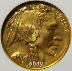 2006 $50 American Gold Buffalo 1oz. 9999 Fine Gold NGC MS70 First Strike