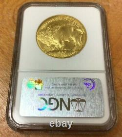 2006 $50 American Gold Buffalo 1oz. 9999 Fine Gold NGC MS70 First Strikes