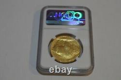 2006 $50 American Gold Buffalo Ngc Ms70 Uncirculated. 9999 Fine G$50