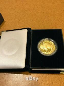2006 $50 Gold Buffalo 1 oz. 9999 fine proof in OGP