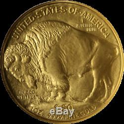 2006 Buffalo Gold $50.9999 Fine NGC MS70 Brown Label Superb Eye Appeal