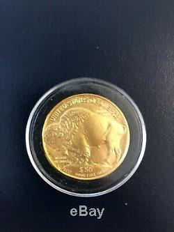 2006 Gold American Buffalo 1 Troy oz. 9999 Fine Gold Bullion $50 US Mint Coin