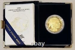 2006-W American Gold Buffalo Proof (1 oz) $50.9999 fine with OGP box and COA