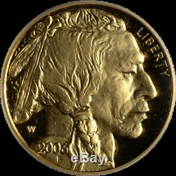 2006-W Buffalo Gold $50.9999 Fine ICG PR70 DCAM First Day of Issue Label -STOCK