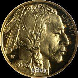 2006-W Buffalo Gold $50.9999 Fine NGC PF70 Ultra Cameo Brown Label STOCK