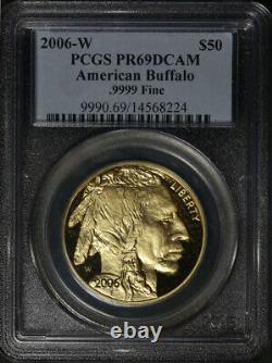 2006-W Buffalo Gold $50.9999 Fine PCGS PR69 DCAM Standard Blue Label STOCK