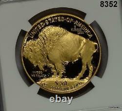 2006 W Buffalo Gold Coin. 9999 Fine 1oz Ngc Certified Pf70 Ultra Cameo #8352