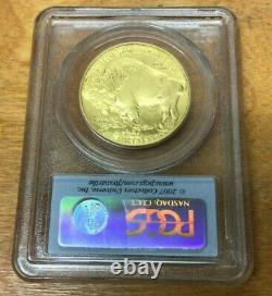 2007 $50 American Gold Buffalo 1oz. 9999 Fine Gold PCGS MS70 First Strike