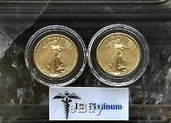 2007 Eagle, US, 1/4 oz Fine Gold Coin RARE DATE