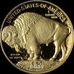 2007-W Buffalo Gold $50.9999 Fine ICG PR70 DCAM Green Label Superb Eye Appeal