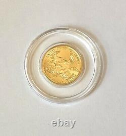 2008 $5 1/10 oz Fine Gold American Eagle Liberty Coin