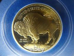 2008-W $25 Gold Buffalo 1/2 oz. 9999 Fine PCGS PR69DCAM