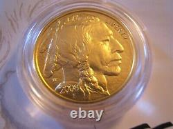 2008 W $25 uncirculated. 9999 fine American Buffalo gold with US Mint box and COA