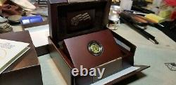 2008-W $5 1/10-oz Proof American Gold Buffalo Coin. 9999 Fine With COA and OGP
