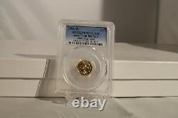 2008- W $5 Pcgs Pr70 Dcam American Buffalo. 9999 Fine Gold